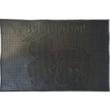 """Коврик резиновый 40х60 см """"Всё в дом!"""", черный, SUNSTEP™(31-036)"""