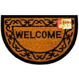 """Коврик кокосовый 40х60 см """"Welcome"""", полуовал, SUNSTEP™(32-073)"""
