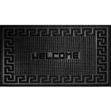 """Коврик резиновый 40х60 см """"Welcome"""", черный, SUNSTEP™(31-027)"""
