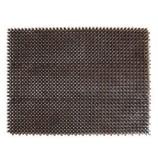 Коврик-травка 42х56 см, черно-серая, SUNSTEP™(71-003)