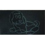 """Коврик резиновый 40х60 см """"Собака"""", черный, SUNSTEP™(31-024)"""