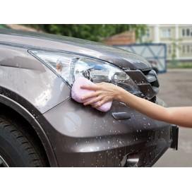 Губка д/мытья авто, микрофибра Professional, PATERRA, 18*9,5*4см /48( 406-035) (н)