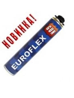 Пена профессиональная GUN 620 мл EUROFLEX