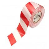 Лента оградительная ЛО-200 (бело-красная) 200п.м.*50мм-35мкм