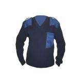 Джемпер форменный с накладкой