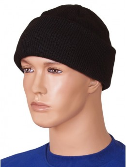Черная шапка