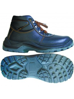 Ботинки юфть ПУ-ПУ с МП (искусственный мех)
